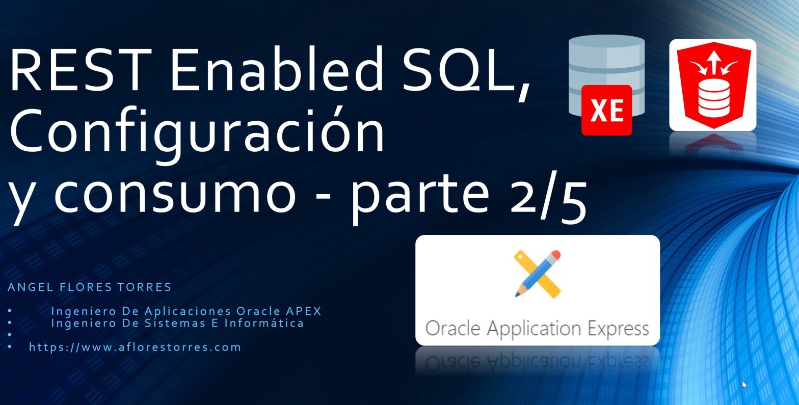 Rest Enable SQL - parte 2